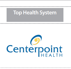 Centerpoint recognized as Top Health System